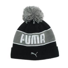ニット帽 ポン ビーニー 022833 (ブラック)