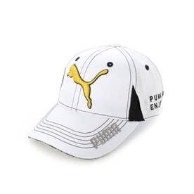 レディース ゴルフ キャップ ゴルフ W ツアーラウンドキャップ 866579 (ホワイト)