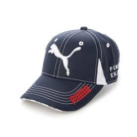 レディース ゴルフ キャップ ゴルフ W ツアーラウンドキャップ 866579 (ネイビー)