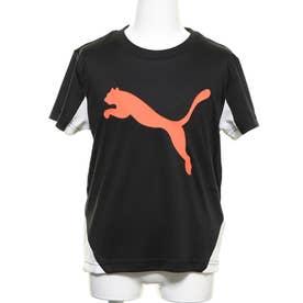 ジュニア 半袖機能Tシャツ ACTIVE SPORTS キャット グラフィック Tシャツ 582896