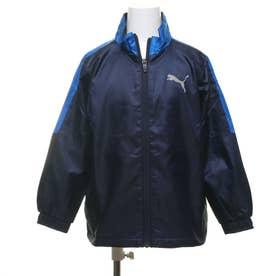 ジュニア ウインドジャケット トレーニング ウラトリコット ウーブン ジャケット B 584966 (ネイビー)