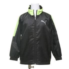 ジュニア ウインドジャケット トレーニング ウラトリコット ウーブン ジャケット B 584966 (ブラック)