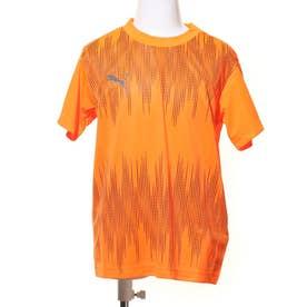 ジュニア サッカー/フットサル 半袖シャツ ftblNXT グラフィック シャツ コア Jr 657137 (オレンジ)