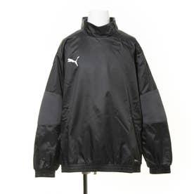 ジュニア サッカー/フットサル ピステシャツ teamFINAL 21 ウラトリコット ピステトップJr 657124 (ブラック)