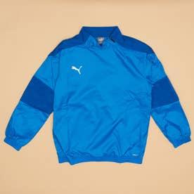 ジュニア サッカー/フットサル ピステシャツ teamFINAL 21 ウラトリコット ピステトップJr 657124 (ブルー)