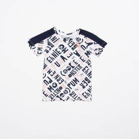 セサミ SS AOP Tシャツ B (WHITE)