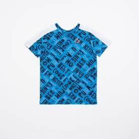 セサミ SS AOP Tシャツ B (INDIGO BUNTING)