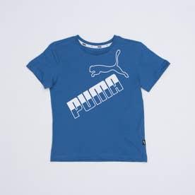 ジュニア 半袖Tシャツ AMPLIFIED ビッグロゴ Tシャツ 588970 (ブルー)