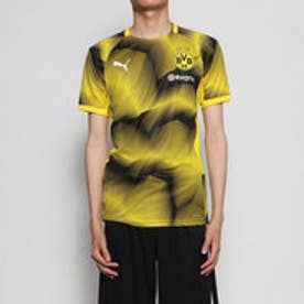 メンズ サッカー/フットサル 半袖シャツ BVB スタジアム グラフィック ジャージー 754538 (イエロー)