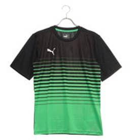 メンズ サッカー/フットサル 半袖シャツ ftblPLAY グラフィック シャツ 656088 (グリーン)
