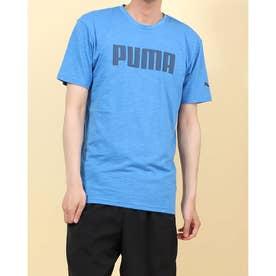 Puma Sports Casual Graphic Tee Mens Herren Freizeit Training T-Shirt Weiß
