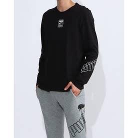 メンズ 長袖Tシャツ REBEL LS Tシャツ 585286 (ブラック)
