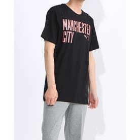 メンズ サッカー/フットサル 半袖シャツ MCFC FTBLCORE ワーディング SS Tシャツ 758043 (ブラック)