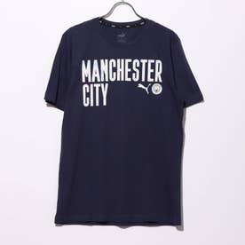 メンズ サッカー/フットサル 半袖シャツ MCFC FTBLCORE ワーディング SS Tシャツ 758043 (ネイビー)