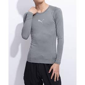 テック ライト LS ヘザー Tシャツ (MEDIUM GRAY HEATHER)