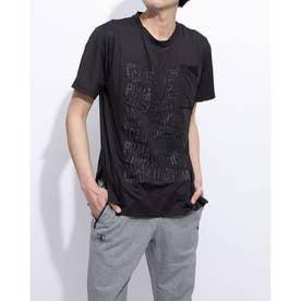 コーション SS グラフィック Tシャツ (BLACK)