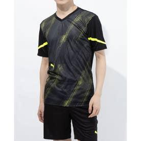メンズ サッカー/フットサル 半袖シャツ individualFLASH SSシャツ 657482 (ブラック)