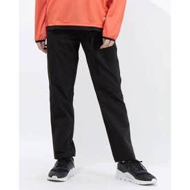 メンズ ライフスタイルロングパンツ ストレッチウーブン ストレート パンツ 589186 (ブラック)