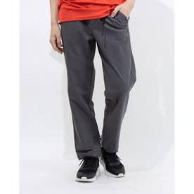 メンズ ライフスタイルロングパンツ ストレッチウーブン ストレート パンツ 589186 (グレー)