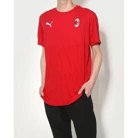 メンズ サッカー/フットサル 半袖シャツ ACM ウォームアップ Tシャツ 758632 (レッド)