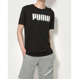 メンズ 半袖機能Tシャツ パフォーマンス リサイクル SS Tシャツ 520696 (ブラック)