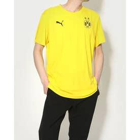 メンズ サッカー/フットサル 半袖シャツ BVB ウォームアップ Tシャツ 758586 (イエロー)
