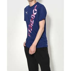 メンズ サッカー/フットサル 半袖シャツ NXT HYBRID SS Tシャツ 657447 (ネイビー)