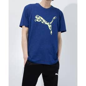 メンズ 半袖機能Tシャツ パフォーマンス ブランド SS Tシャツ 520689 (ネイビー)