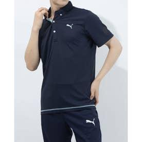 メンズ ゴルフ 半袖シャツ ゴルフ SS ポロシャツ 923982 (ネイビー)