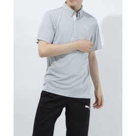 メンズ ゴルフ 半袖シャツ ゴルフ SS ポロシャツ 923982 (グレー)