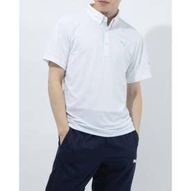 メンズ ゴルフ 半袖シャツ ゴルフ SS ポロシャツ 923982 (ホワイト)