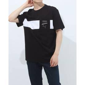 メンズ 半袖Tシャツ REBEL アドバンスド Tシャツ 589094 (ブラック)