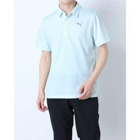 メンズ ゴルフ 半袖シャツ ゴルフ Day Light サマー SS ポロシャツ 930191 (ブルー)
