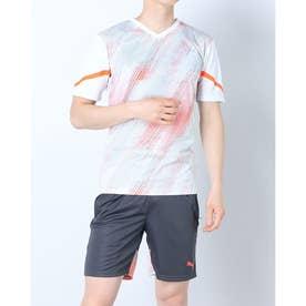 メンズ サッカー/フットサル 半袖シャツ individualFLASH SSシャツ 657482 (ホワイト)