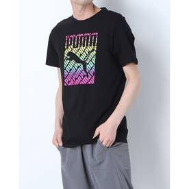 メンズ 半袖Tシャツ PRIDE Tシャツ 589089 (ブラック)