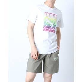 メンズ 半袖Tシャツ PRIDE Tシャツ 589089 (ホワイト)