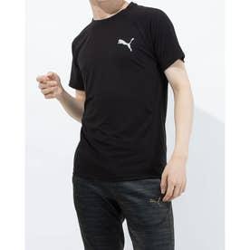 半袖機能Tシャツ EVOSTRIPE Tシャツ 588909 (ブラック)
