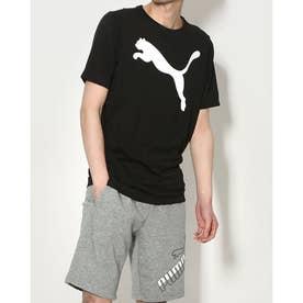 半袖機能Tシャツ ACTIVE ビッグロゴ Tシャツ 588860 (ブラック)