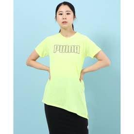 レディース フィットネス 半袖Tシャツ トレーニング グラフィック ロゴ SS Tシャツ 519913
