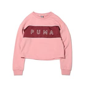 STYLE CAT SATIN CREW WMNS (PINK)