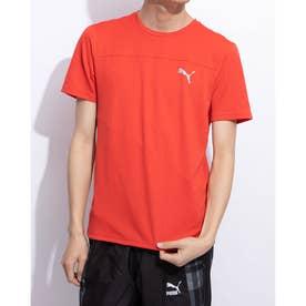 ラン SS Tシャツ モノ (HIGH RISK RED)