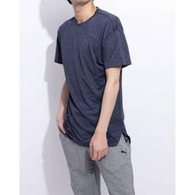 エナジー SS Tシャツ (PEACOAT HEATHER)