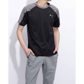 A.C.E. SS ブロック Tシャツ (BLACK-CHARCOAL GRAY)