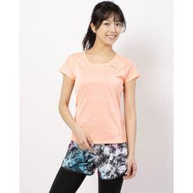 THERMO R+ SS Tシャツ (BRIGHT PEACH HEATHER)
