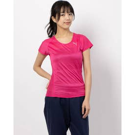 THERMO R+ SS Tシャツ (FUCHSIA PURPLE HEATHER)