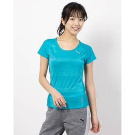 THERMO R+ SS Tシャツ (CARIBBEAN SEA HEATHER)