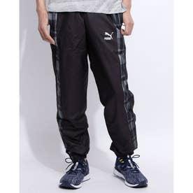 CHECK WOVEN PANTS (BLACK-CHECK)