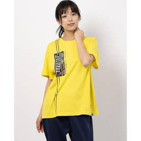 GRAPHICS ELONGATED SS Tシャツ (BLAZING YELLOW)