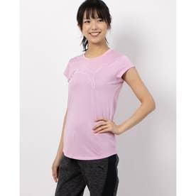 ACTIVE ロゴヘザー SS Tシャツ (LILAC SACHET HEATHER)