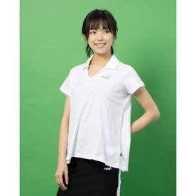 ESS+ オープンポロシャツ (WHITE)